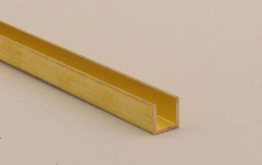 metall kunststoffhandel f rber maschinenbau messing u profil ms56 8x8 x 1 mm. Black Bedroom Furniture Sets. Home Design Ideas