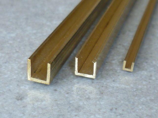 Sehr Gut Metall & Kunststoffhandel | Färber Maschinenbau Messing U Profil  AL28