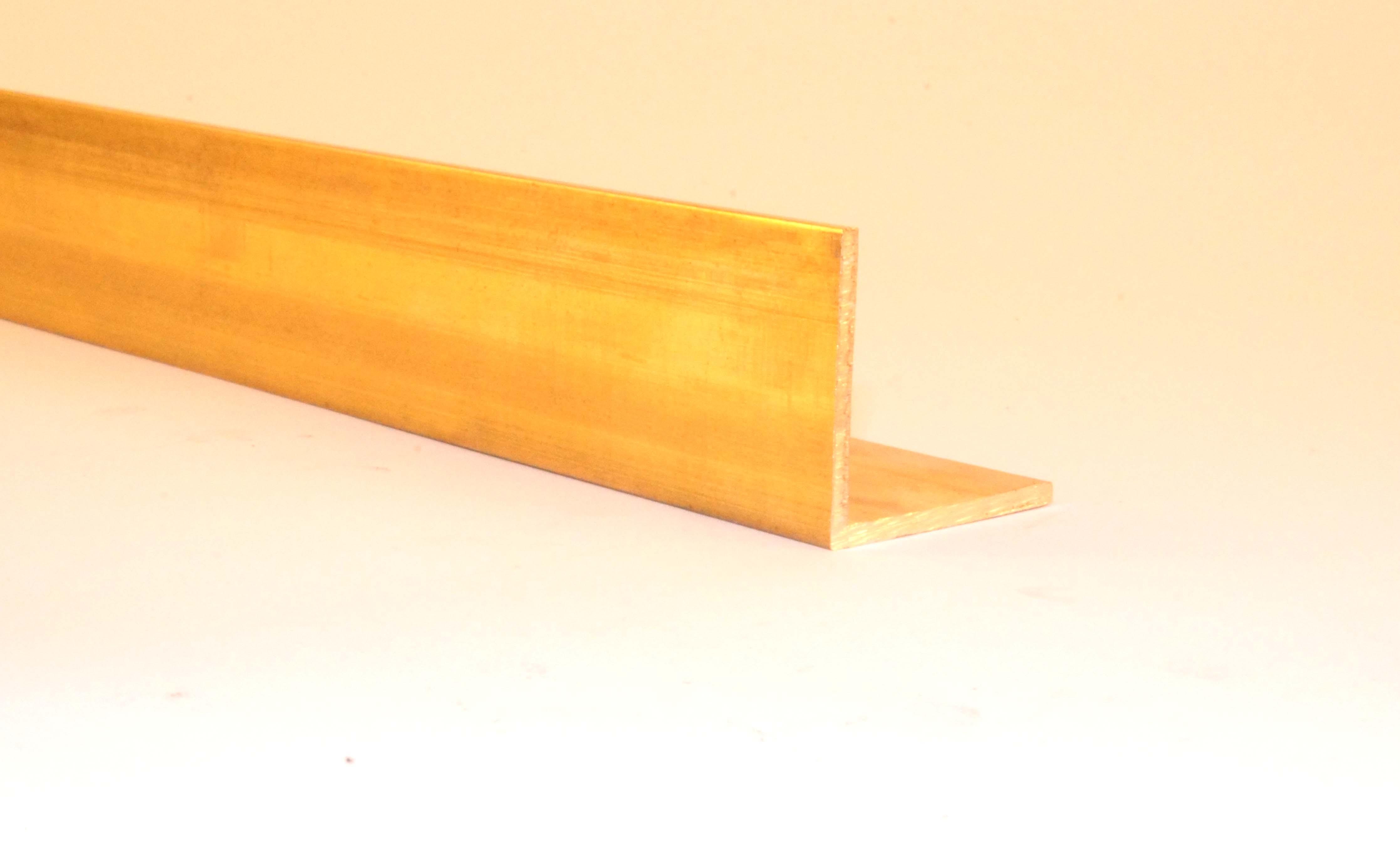Messing Vierkantrohr 8x8x1 mm //500mm Länge CuZn37 MS63  Rohr