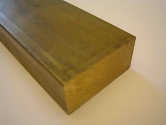 massiv MS58 Ma/ße HxB: 3 x 60 mm | Flachstange B/&T Metall Messing Flach CuZn39Pb3 25 cm L/änge ca